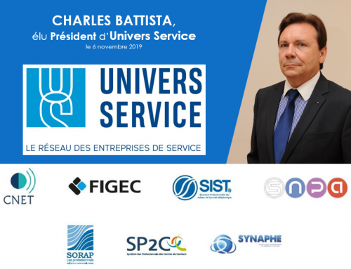 Charles Battista, élu Président d'Univers Service